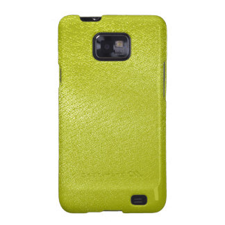 Golden Yellow Leather Look Samsung Galaxy S2 Covers