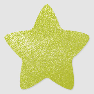 Golden Yellow Leather Look Stickers