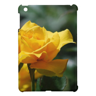 Golden Yellow Rose Bud Case For The iPad Mini