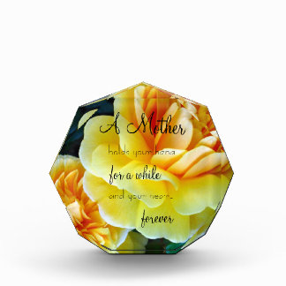 Golden Yellow Roses MOTHER Award