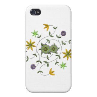 Golden Yellow Sage Spring Flower Garden iPhone 4/4S Cases