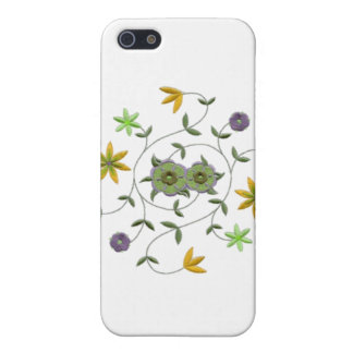 Golden Yellow Sage Spring Flower Garden iPhone SE/5/5s Cover