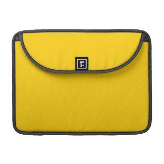 Golden Yellow Sleeve For MacBooks