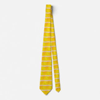 Golden Yellow Spring Summer Gold Abstract Ties