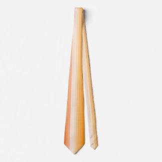 Golden Yellow Striped Spring Summer Men's Ties
