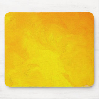 Golden Yellow - The World With Minimal Design Mouse Pad