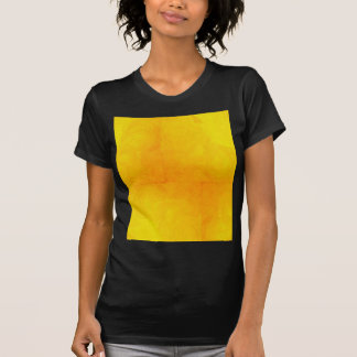 Golden Yellow - The World With Minimal Design Tee Shirt