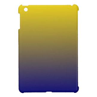 Golden Yellow to Navy Blue Horizontal Gradient iPad Mini Case