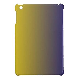 Golden Yellow to Navy Blue Vertical Gradient iPad Mini Case