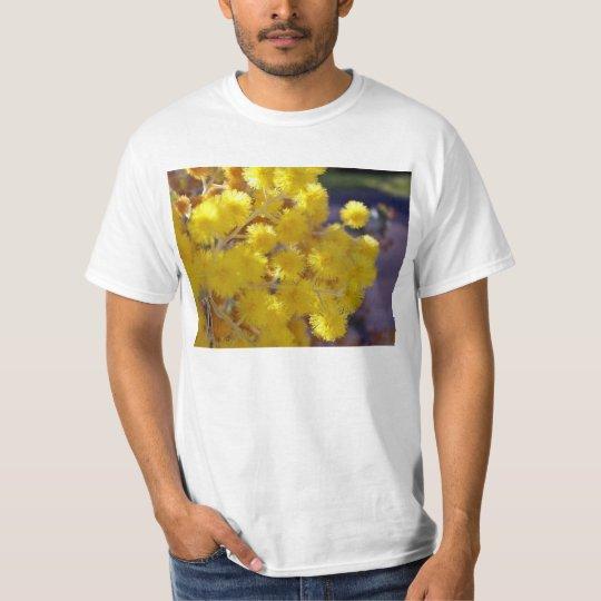 Golden Yellow wattle up close T-Shirt