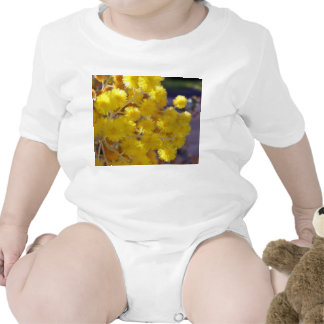Golden Yellow wattle up close T-shirts