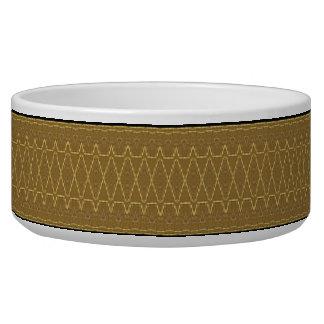 Golden Zipper Pet Bowl