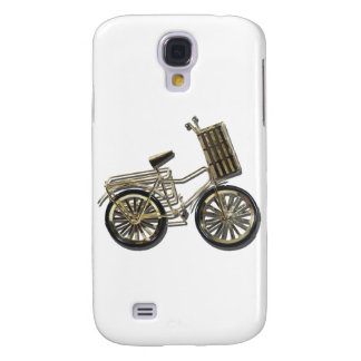 GoldenBicycleBasket081311 Samsung Galaxy S4 Cover