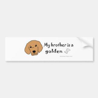GoldenBrother Bumper Sticker
