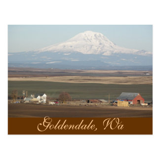 Goldendale, Washington Travel Postcard