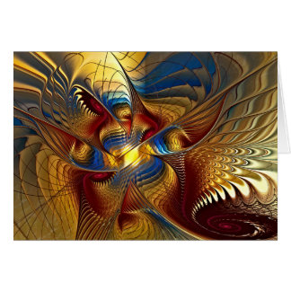 GoldenDancing Dragon Note Cards
