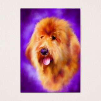 Goldendoodle ACEO Art Trading Cards