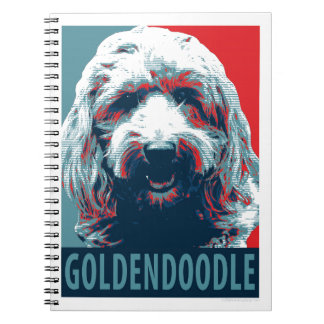GOLDENDOODLE by Hope Dogs Notebook