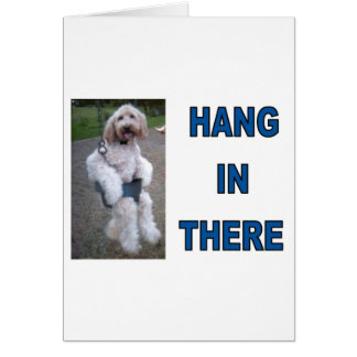 GOLDENDOODLE GREETING CARD