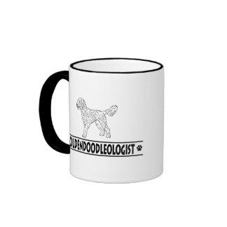 Goldendoodle chistoso tazas de café