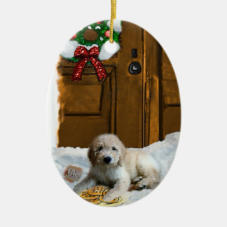 Goldendoodle Christmas Gifts Ornament