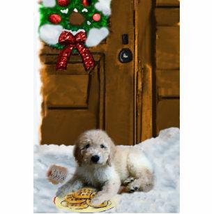 goldendoodle christmas ornament - Goldendoodle Christmas Ornament