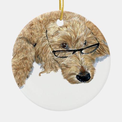 Goldendoodle Christmas Ornament
