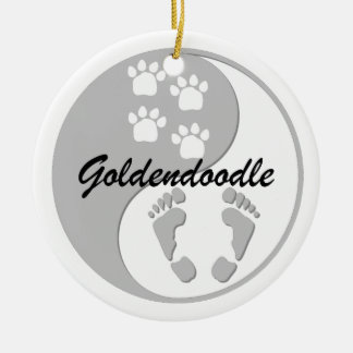 goldendoodle christmas tree ornaments