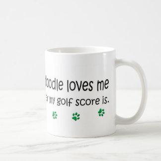 Goldendoodle Classic White Coffee Mug