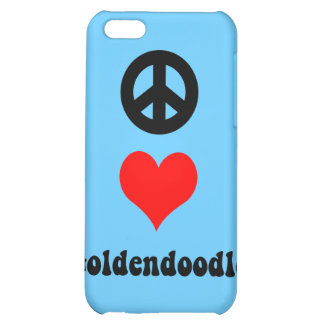 goldendoodle cover for iPhone 5C