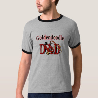 Goldendoodle Dad Apparel T-Shirt