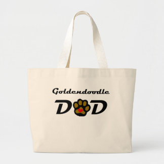 Goldendoodle Dad Large Tote Bag