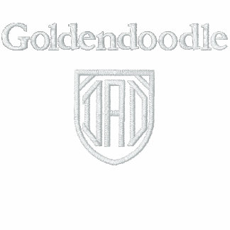 Goldendoodle, DAD Polo Shirt