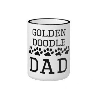 Goldendoodle Dad Ringer Coffee Mug