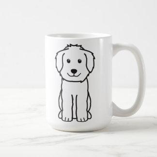 Goldendoodle Dog Cartoon Classic White Coffee Mug