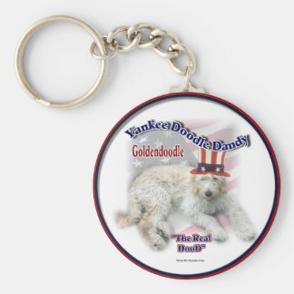 Goldendoodle Gifts Keychain