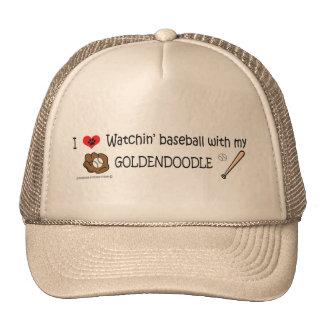 goldendoodle trucker hat