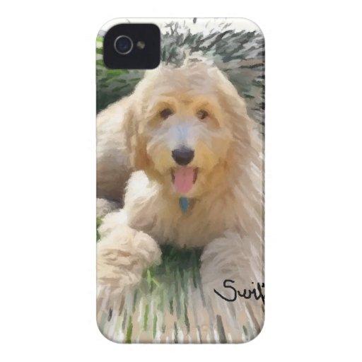 Goldendoodle Labradoodle Case-Mate iPhone 4 Carcasas