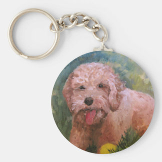 Goldendoodle/ Labradoodle.Key Chain Keychain