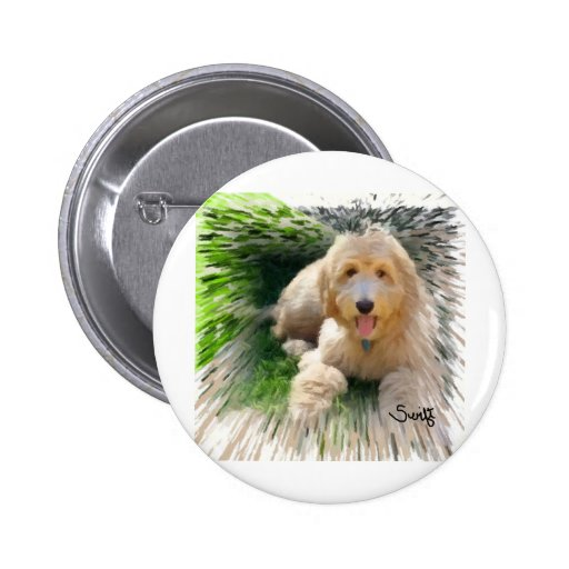 Goldendoodle Labradoodle Pin