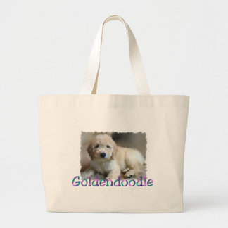 Goldendoodle Lovers Gifts Large Tote Bag