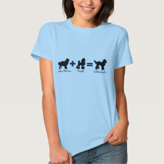 Goldendoodle Math T-Shirt