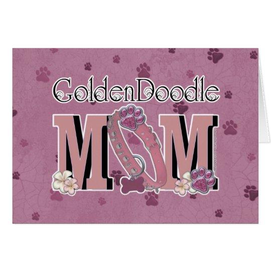 GoldenDoodle MOM Card