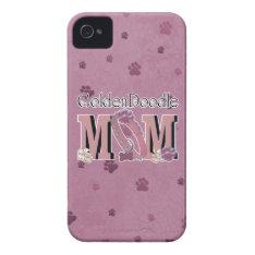 Goldendoodle Mom Iphone 4 Case-mate Case at Zazzle