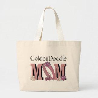 GoldenDoodle MOM Large Tote Bag