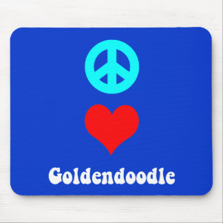goldendoodle mouse pad