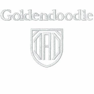 Goldendoodle, PAPÁ Camiseta Polo Bordada
