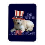 Goldendoodle Policital Humor Flexible Magnet