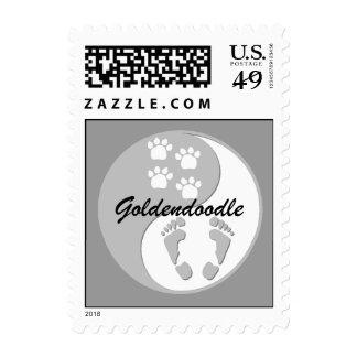 goldendoodle postage stamps