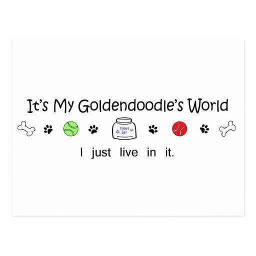 Goldendoodle Postal